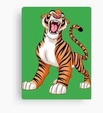 Tiger! Canvas Print