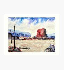 Southwest Colors Art Print