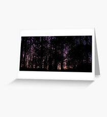 Horizontal Panorama Greeting Card