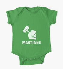Mars State University Martians White Kids Clothes