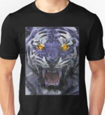 Psychedelic Tiger Poster Unisex T-Shirt