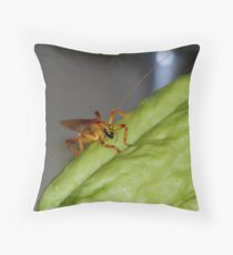 Creepy crawley Throw Pillow