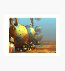 Extraterrestrial World Art Print