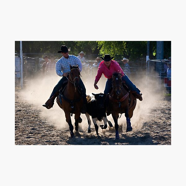 Moruya Rodeo New Years Day 2012 Photographic Print