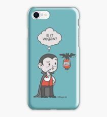 Vegan Vampire iPhone Case/Skin