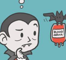 Vegan Vampire Sticker
