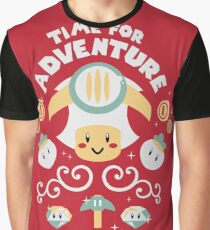 Time for Adventure Toad Graphic T-Shirt