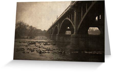 Gervais Street Bridge Poster by Jay Reed