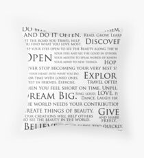 The JLK Manifesto Throw Pillow