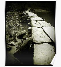 Tarr Steps, Exmoor Poster
