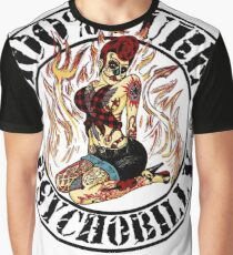 Psychobilly Girl - white Graphic T-Shirt