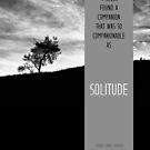Henry David Thoreau - Solitude von schwebewesen