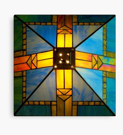 Top of Lamp Shade Canvas Print
