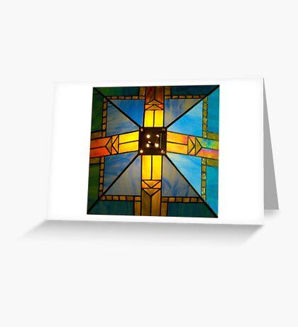 Top of Lamp Shade Greeting Card