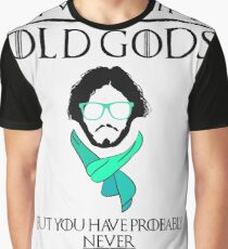 Hipster Jon Snow - Game of Thrones T-Shirt Graphic T-Shirt