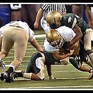 Class 4A Cathedral vs South Bend Washington 8 by Oscar Salinas