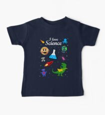 I Love Science Kids Clothes