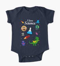 Ich liebe Wissenschaft Baby Body Kurzarm