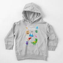 Sudadera con capucha para bebé Yo amo la ciencia