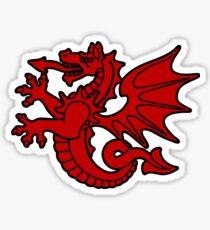 bretagne tregor dragon breton Sticker