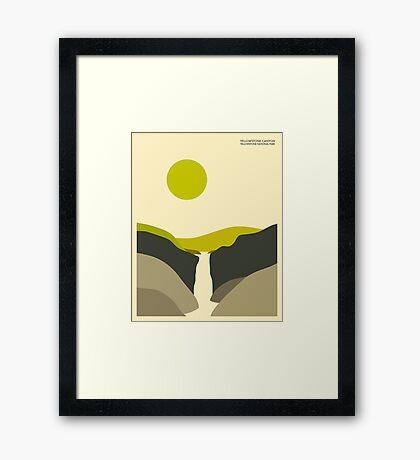 YELLOWSTONE NATIONAL PARK Framed Print