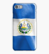 El Salvador Flag iPhone Case/Skin