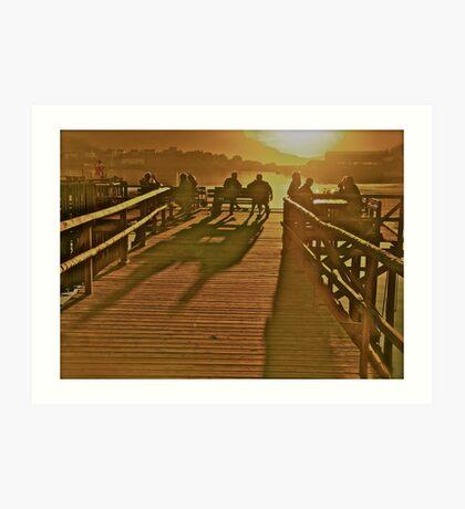 Dreamcatcher - Seventh Heaven . Midsummer , Reine.  Lofoten Islands. Norway . by Brown Sugar. Views(32) favorited by (1) tvm !!! Art Print