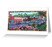 'Downtown Blowing Rock' Greeting Card