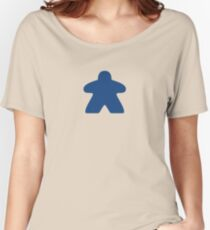 Blue Meeple Women's Relaxed Fit T-Shirt