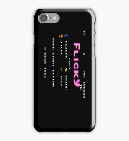 Flicky iPhone Case/Skin