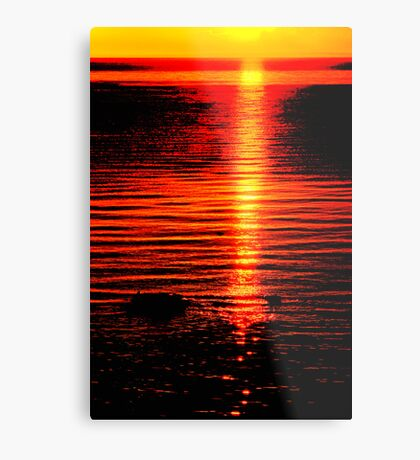 The Colours of Sunset Metal Print