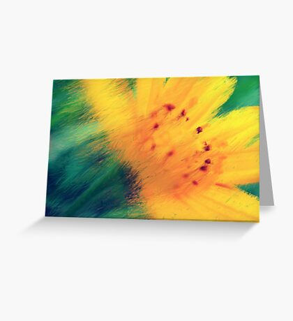 Overflow of bloom Greeting Card