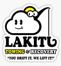 LAKITU TOWING Sticker