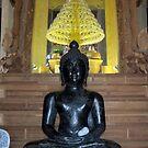 Inside Wat Phu Khao - Sahatsakhan, Kalasin by Hugh Fathers