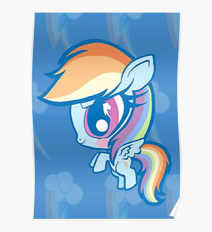 Weeny My Little Pony- Rainbow Dash Poster