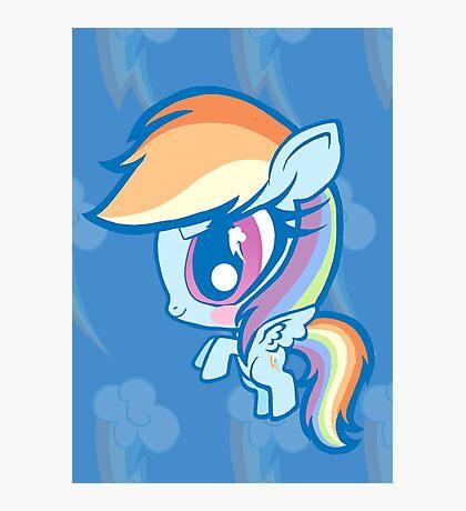 Weeny My Little Pony- Rainbow Dash Photographic Print