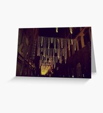Florence decorated for Christmas Greeting Card