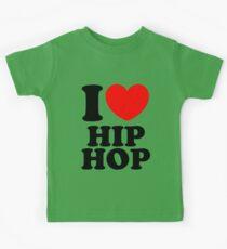 """""""I Heart Hip Hop"""" Kids Tee"""