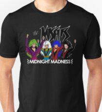 Camiseta unisex Locura de media noche