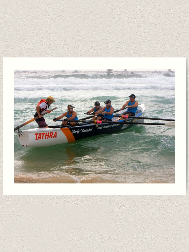 Alternate view of George Bass Surf Boat Race 2012 Art Print
