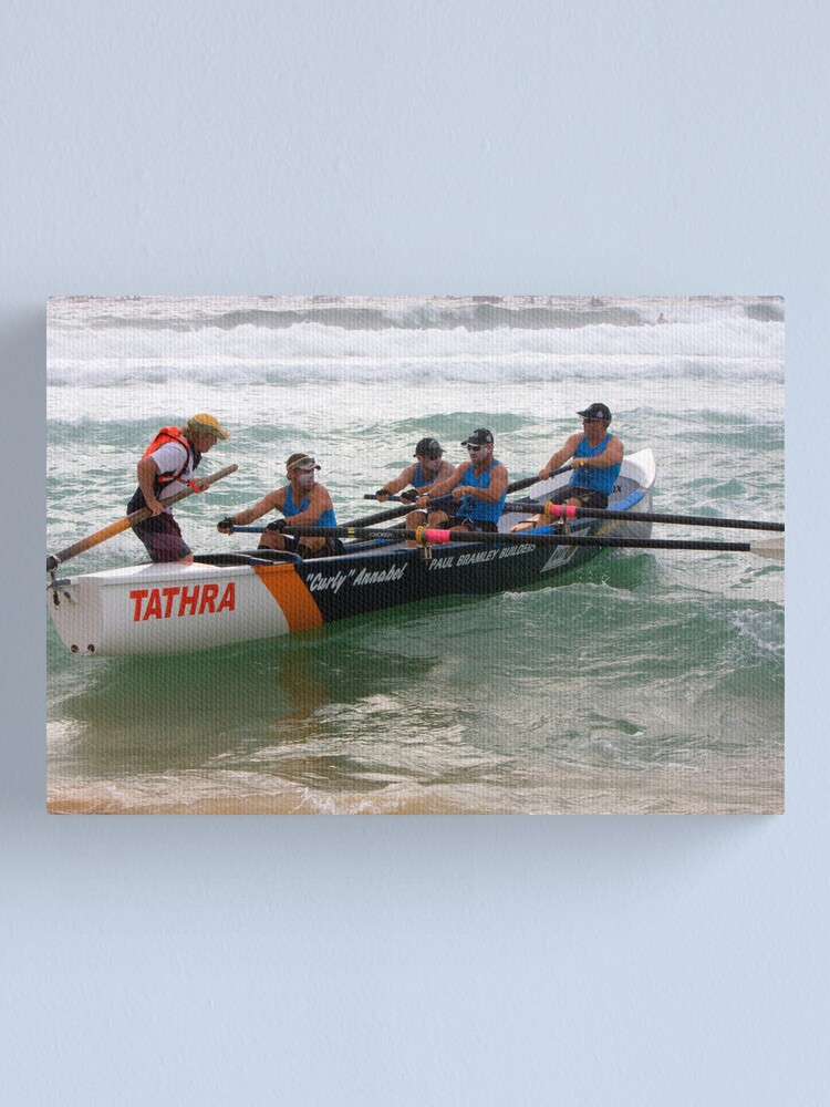 Alternate view of George Bass Surf Boat Race 2012 Canvas Print