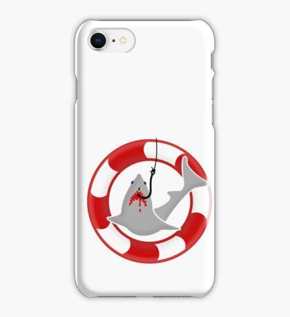 Shark on the hook VRS2 iPhone Case/Skin