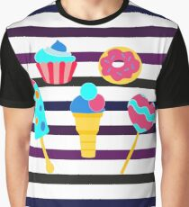Sweet stripes Graphic T-Shirt
