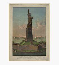 Lámina fotográfica Statue of Liberty Artwork