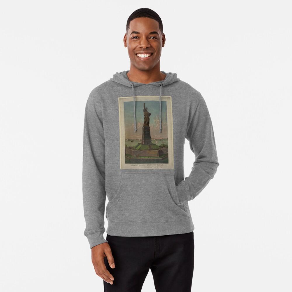 Statue of Liberty Artwork Sudadera ligera con capucha