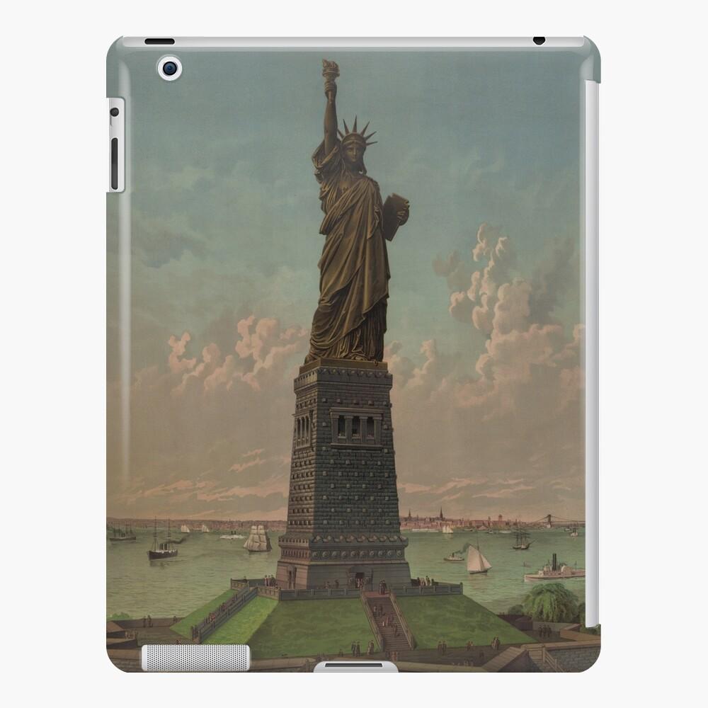 Statue of Liberty Artwork Funda y vinilo para iPad