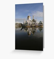 THE NATURE OF MOSQUE Greeting Card