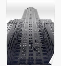 Chrysler Building Duotone Poster
