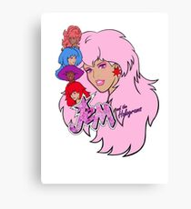 Jem and the Holograms Canvas Print