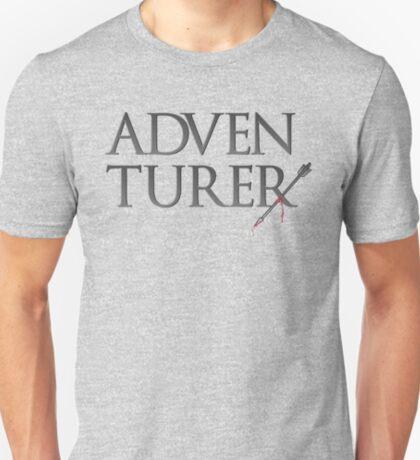 Adventurer no more. T-Shirt